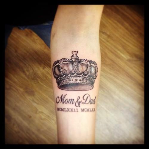 Rasgtattoo Tattoo Liberec Tetovani Tetovaniliberec Koruna Mama