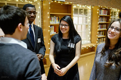 20150220gala4091 (WFU News Center) Tags: people usa students dinner student library events northcarolina atrium gala winstonsalem academic challenging accomplished zsmithreynoldslibrary zsr zsrlibrary annualevents deanslistgala