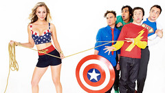 Big Bang Theory - Kaley Cuoco - Penny - Jim Parsons - Sheldon - Johnny Galecki - Leonard - 2 - David Eckelman - Dave Eckelman - Warner Bros (David Eckelman - Warner Bros. / DC Fan) Tags: fun tv funny comedy wonderwoman penny comedian sheldon warnerbros warnerbrothers bigbang sitcom kaleycuoco bigbangtheory jimparsons davideckelman daveeckelman