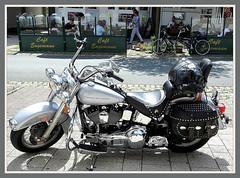 Harley-Davidson - Mnnertrume im Hochsauerland (Horst Erkrath) Tags: harley harleydavidson biker moped erkrath motorrad sauerland winterberg hochsauerland kahlerasten vmotor horstbostelmann