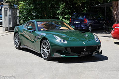 Ferrari F12 TdF (on explore July 20, 2016) (aguswiss1) Tags: ferrarif12tdf ferrari f12 tdf sueprcar racer racecar sportscar tourdefrance supercar supercaroftheday italiencar tracktool trackcar limited edition rare switzerland green exotic luxury luxuycar million car britishracinggreen