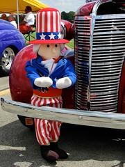Sam (e r j k . a m e r j k a) Tags: pennsylvania butler nixon unclesam whimsy cars ride erjkprunczyk