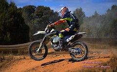 nº 9 Jose Manuel Pellicer, Suzuki RMZ Xraids, llegando meta