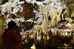 El fotgrafo IV. Las Cuevas del guila (Luca Morales Guinaldo) Tags: espaa spain limestone cave stalagmite stalactite avila cueva estalactitas caliza estalagmita