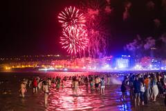 "2016-06-23 Noche de San Juan, Las Palmas (09) - ""Noche de San Juan"" (Johannisnacht) - Fiesta in der krzesten Nacht des Jahres (Sommersonnenwende) am Strand von Las Canteras in Las Palmas de Gran Canaria. (mike.bulter) Tags: people beach grancanaria strand spain fiesta fireworks kanaren canarias menschen espana canaries canaryislands esp spanien personen playadelascanteras feuerwerk feier laspalmasdegrancanaria kanarischeinseln johannisnacht sonnenwende sommersonnenwende fiestadesanjuan puertocanteras nochedesanjuanenlascanteras"