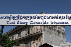 038-Cambodia (Beverly Houwing) Tags: school building cambodia classroom hallway torture phnompenh isolation cells hdr imprisonment s21 comunism interrogation khmerrouge tuolsleng polpot kampuchea genocidemuseum