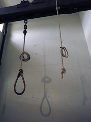 The hanging noose in the Crumlin Road Gaol (Jail) in Belfast, Ireland (albatz) Tags: gaol jail belfast ireland hanging noose crumlinroad prison gallows