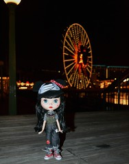 Minnie on the Boardwalk