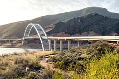Roosevelt Dam Bridge (bugeyed_G) Tags: bridge arizona lake southwest tourism nature architecture landscape arch desert manmade civilengineering rooseveltdam