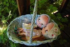 DSC_0048 (Lindy Dolldreams) Tags: blythedoll basket girls dolls petitbonbonbys