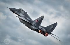 'Mikoyan Magic' (SJAviation.net) Tags: nikon aircraft aviation jet airshow mikoyan riat mig29 raffairford fulcrum polishairforce miskmazowiecki 23rdtab kilmov