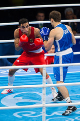 Olympia 2016 in Rio de Janeiro (Offizieller Auftritt der Bundeswehr) Tags: rio2016 olympia olympia2016 olympischespiele2016 olympiateilnehmer international sport sportveranstaltung wettkampf event boxen boxer spitzesportler sportsoldat artemharutyunyan halbweltergewicht boxkampf boxring inaktion riodejaneiro brasilien