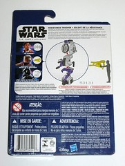 star wars the force awakens resistance trooper build a weapon space mission basic action figure hasbro 2015 mosc 2b (tjparkside) Tags: star wars force awakens basic figures resistance fighter trooper troopers rebel rebels helmet goggles pilot space mission combine accessories hasbro disney 2015 friday tfa new toy toys back pack weapon theforceawakens episode 7 seven xii build blaster action figure baw poe dameron xwing x wing pilots tie first 1st order
