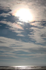 Sky Light (Mk) Tags: clouds sundog halo jetty graysharbornorthjetty