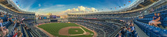 Yankee Ground NYC (mattpacker1978) Tags: nyc yankee stadium nyy baseball sports sunny people clouds games ball base bat players panoramic iphone 6s bronx redsox