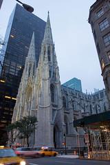 St. Patrick's at Dusk (stynxno) Tags: newyorkcity saintpatrickscathedral