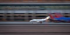 Lightspeed (hotdog.aviation) Tags: phoenixskyharbor honeywell netjets hawker800xp ratheon skyharbor
