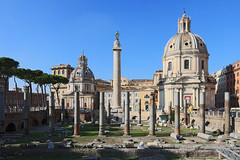 Roma - Trajan's Column (Michael.Kemper) Tags: voyage travelling reise 30d efs 1755 f28 is usm canoneos30d canonefs1755f28isusm italien italia italy rom roma rome trajans column trajan sule trajanssule colonna traiana canon campo marzio latium