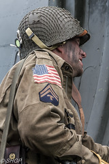 Re-enactor - The Victory Show 2016 (SHGP) Tags: douglas c47 dc3 dakota victory show 2016 aircraft warbird cockpit plane transport band brothers canon eos 700d sigma 18250mm electronics bike vehicle reenactor ww2 world war two 2 soldier radio man signal signals signaler outdoor untied states army air corps force raf royal correspondent camera pilot aircrew ground paratrooper 82nd airborne luftwaffe living history truck jeep tank