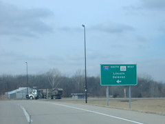 122-I155nw (paulthemapguy) Tags: 122 interstate i155 155 illinois route highway state sign