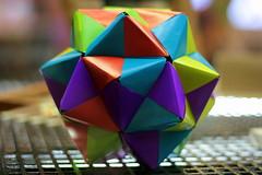 Shape (Benn Gunn Baker) Tags: benn gunn baker canon 550d t2i bristol explore museum science learning shape triangles complex 3d geometric paper colour