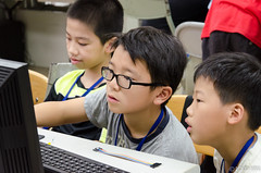 DSC_0714 (roger528852momo) Tags: 2016           little staff person explore summer camp hokuzine ever worker china youth corps ying qiao elementary school arduino robot food processing workshop taipei taiwan roger huang roger528852momo