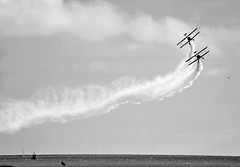 Airborne - Eastbourne 2016 The Breitling 'Wing Walkers' (Splat Photo) Tags: airboure eastbourne airborn sony a7ii a7m2 2016 breitling wing walkers