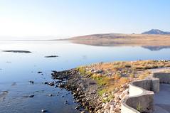 DSC_0094-001 (Great Salt Lake Images) Tags: summer morning causeway antelopeisland greatsaltlake utah