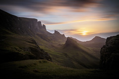 The other side (Turnpops) Tags: quiraing isleofskye mountians mountain sunrise summer sun clouds cloud shadows shadow silhouette longexposure scotland leebigstopper canon6d canon1635mm