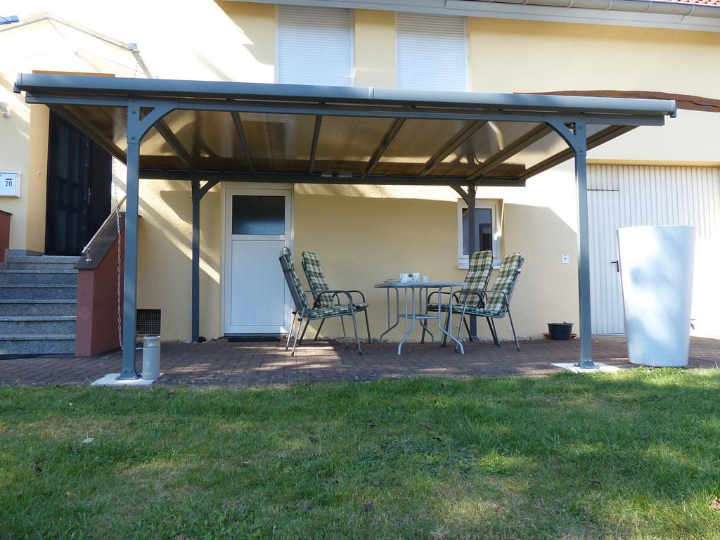 Ansprechend Sonnenschutzrollo Terrasse Ideen Von Palram Carport Verona 5000 (mygardenhome.de) Tags: Palram