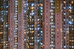 Choi Ying Estate (mikemikecat) Tags:   pingshan kowloon hongkong nightscapes estates a7r nostalgia house mikemikecat architecture sony stacked building colorful housing pattern        block hong kong cityscapes street nightview night    evening  twilight vintage rooftop  kowloonbay  carlzeiss nightscape   sel1635z   choiyingestate fe70200mf4goss