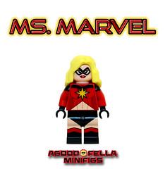 Ms. Marvel (70s) [CUSTOM] [COMICS] [CHRISTO] (agoodfella minifigs) Tags: lego marvel marvellego legomarvel minifigures marvelcomics comics heroes legosuperheroes legomarvelsuperheroes legoavengers minifigure moc mcu marvelheroes mod custom christo msmarvel captainmarvel caroldanvers variants