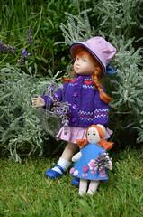 Lexie wears DollMum knitwear (DollMum) Tags: heather maciak lexie doll porcelain knitting