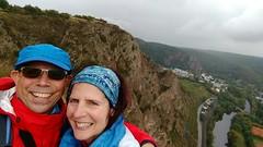 Selfie auf der Bastei auf dem Rotenfels