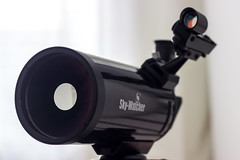 Maksutov 90mm Sky-watcher (Fotografo Andre Prieto) Tags: maksutov 90mm skywatcher digiscoping telescopio telescope escopo andr prieto astrofotografia natureza divisadesantossovicente sovicente canont3i canon 600d foco primrio cassegrain planetas jpiter marte venus lua eclipse saturno sol manchas