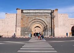 Bab Agnaou Kasbah Gate (Honevo) Tags: babagnaou honevo hnevo marrakech marrakesh kasbah