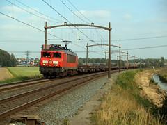 DBC 1611 (jvr440) Tags: trein train spoorwegen railroad railways dordrecht wieldrechtse zeedijk dbc db cargo 1600 1611 goederentrein