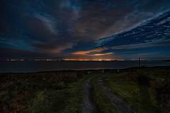 Galway Bay (Evoljo) Tags: galway sea city lights coast water night view hdr nikon d500