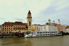Passau,Bayern (Germany) (jens_helmecke) Tags: water donau nikon jens helmecke bayern flus river deutschland germany