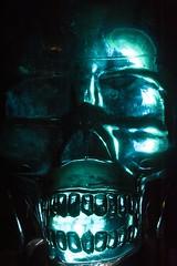 1 Week To Halloween (gpa.1001) Tags: macromondays backlit skull glass