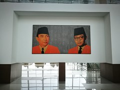 Soekarno-Hatta Mural (A. Wee) Tags: jakarta terminal3 雅加达 印尼 indonesia soekarnohatta airport 机场