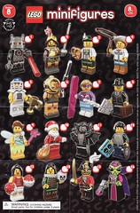 Collectible Minifigures Series 08 (AB Quest) Tags: lego collectible minifigures