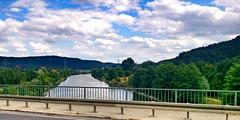2015-07-30 14 Altmhltour, Etappe 4, Brcke (kaianderkiste) Tags: germany bayern bavaria altmhltal altmhl fluss river brcke bridge himmel sky wolken clouds top