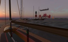 FJ2016 @ NYC - Fins to the right... (vivipezz) Tags: secondlife sailing sl nyc nantucket shields q2m bandit if