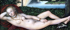 IMG_7534B Lucas Cranach L'Ancien. 1472-1553. Wittenberg. Vienne. Weimar. Nymphe  la fontaine. Nymph in the fountain. Aprs 1537.   Bremen Kunsthalle. (jean louis mazieres) Tags: peintres peintures painting muse museum museo lucascranachlancien lucas cranach elder