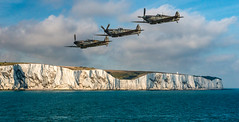 Patrolling along the White Cliffs (somedaysooned) Tags: dover whitecliffs chalkcliffs sea spitfires 1940 battleofbritain patrol coast england ww2 whitecliffsofdover aviation worldwar secondworldwar worldwar2 englishchannel