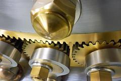 Vault's locking mechanism. (bkkay1) Tags: macrophotograph