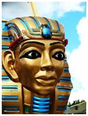 Egyptian (e r j k . a m e r j k a) Tags: ohio mahoning canfield fair figure sculpture amuseement whimsy us224 oh11 oh46 i76oh erjkprunczyk