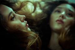 Faustyna (lucrecia lee) Tags: beauty beautiful bigeyes longhair woman wavyhair waves colour curlyhair curls charming contrast mirror portrait pretty youngwoman face fulllips fashion stylish sensual subtle seductive shadow sexy redlips reflection eyes ephemeral dreamy daydreaming darkhair delicate girl gorgeous graceful