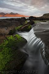 Isle of Eigg (cARTerART) Tags: isle eigg laig beach rum scotland islands waterfall dawn sunrise